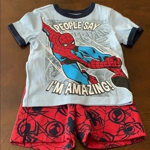 New and Used Spiderman Gymboree Two Piece
